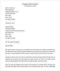 21 Contract Termination Letter Templates Pdf Doc Apple