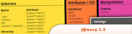 jquery cheat sheet 10 must have javascript cheat sheets sitepoint
