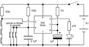 simple electronic lock circuit diagram circuits pinterest pictorial diagram at Electronic Circuit Schematic Diagrams