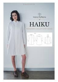Modern Sewing Patterns Interesting Chic Sewing Pattern For Women The HAIKU Mandarin Collar Shirt Adds