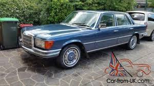 To match it has a great service history from mercedes and has many bills for work carried out on the car. Mercedes 280 Se W116 1974