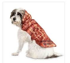 Bacon Strip Pet Dog Cat Funny Meat Food Halloween Costume