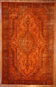 burnt orange rug. Use The 20% Off Coupon Code BAZAARBAYARPINTEREST To Buy This Burnt Orange Overdyed Rug By Bazaarbayar On Etsy O