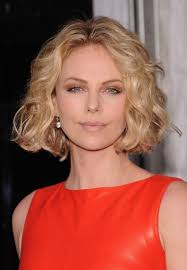 Charlize Theron Short Hair Style medium wavy bob hairstyle women medium haircut 8179 by wearticles.com