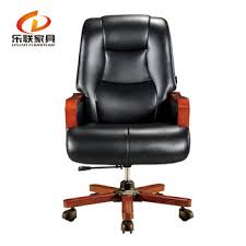 leather antique wood office chair leather antique.  Office Deluxe Big Leather Office King Chair Of Tilting Mechanism Solid Wood Base  Seat Throughout Antique Wood T
