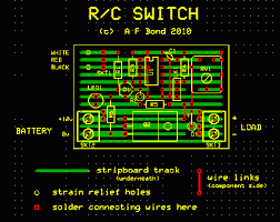your projects rc switch by alan bond rc switch layout