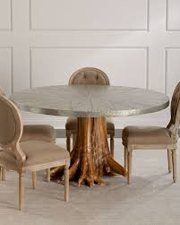 High end dining room furniture Breakfast Room Sorrell Teak Root Dining Table Horchow Dining Room Furniture At Horchow