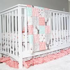 Best 25+ Girl crib bedding ideas on Pinterest | Peach baby nursery ... & Tulip Stag Woodlands Bedding - Baby Girl Crib Bedding Adamdwight.com