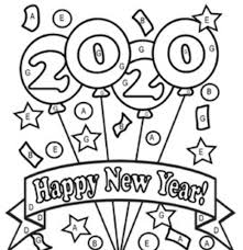 Here, we have provided new year coloring pages with a lot of variations. Free Pdf Printable New Years Coloring Pages 2020 Crafts Coloring Home
