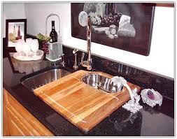 kitchen sink cover cutting board home design ideas