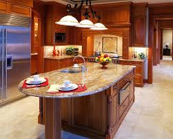 custom kitchen countertops rounded granite island ideas beautiful designs designing idea countertop s10 island