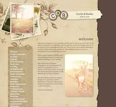 New Wedding Website Theme