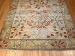 pottery barn rugs 8x10 pottery barn rug pottery barn rug green fl leaves tufted wool pottery pottery barn rugs 8x10