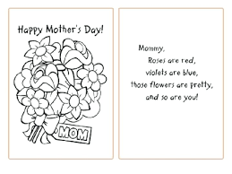 Mother Coloring Pages Printable Happy Birthday Mom Coloring Cards