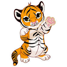 cute animated baby tigers. Fine Baby Baby Tiger Drawingclipart Cute Cartoon Animals Zoo  Tiger Cute For Animated Tigers Pinterest