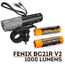 Ion 2 Bicycle Light Fenix Bc21r V2 0 Led 1000 Lumens Rechargeable Lightweight