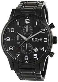 hugo boss 1513180 aeroliner men s quartz analogue watch black hugo boss 1513180 aeroliner men s quartz analogue watch black dial strap