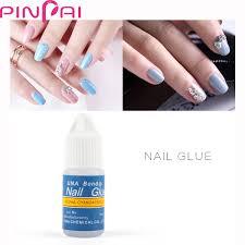 nail art 8ml rhinestone glue gel adhesive resin gem jewelry diamond polish clear decoration with pen tools