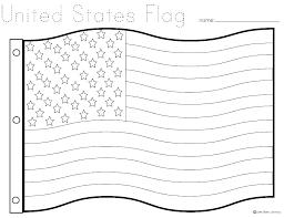 American Flag Coloring Page For Preschool Pages Kindergarten Crayola