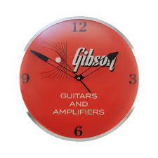 gibson gibson vintage lighted wall clock