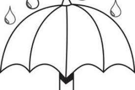 Small Picture Raindrop Coloring Page Umbrella And Raindrops Coloring Page