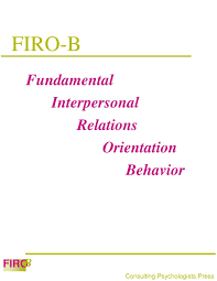 Firo B Ppt Firo B Powerpoint Presentation Id 168566