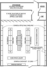store floor plan design. Liquor Store Shelving Package Floor Plan Design G