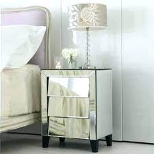 Mirrored bedside furniture Rose Gold Mirrored Bedside Tables Mirror Bedside Table Classy Mirrored Bedside Table Designs Pertaining To Mirror Side Tables Fishcorporg Mirrored Bedside Tables Fishcorporg