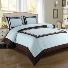 hotel blue chocolate 100 egyptian cotton duvet cover set