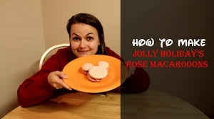 How to Make <b>Jolly Holiday's Mickey Mouse</b> Rose Macaroons ...