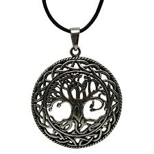 celtic tree of life pewter necklace at all wicca magickal supplies wiccan supplies wicca