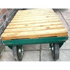 trolley cart coffee table industrial trolley coffee table coffee table awesome drum coffee table trolley cart
