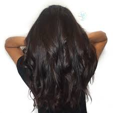 Rich Dark Chocolate Brown Hair Color