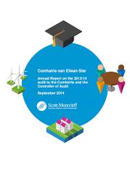 comhairle nan eilean siar annual audit audit scotland report cover comhairle nan eilean siar annual audit 2013 14