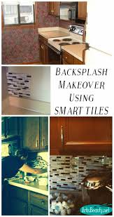 Smart Tiles Kitchen Backsplash Art Is Beauty Quick Kitchen Backsplash Makeover Using Smart Tiles