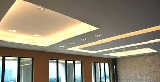 modern spot lighting. Modern Lighting Ceiling Side View Of Design In Living Hall With Led Spot Lights L