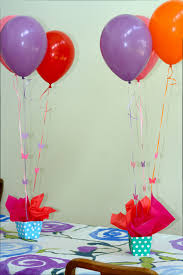 Small Picture Interior Design View Balloon Themed Birthday Party Decorations