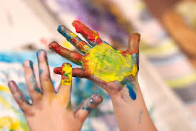 bought finger paints can contain toxic chemicals and allergens that can harm your child