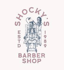 Shocky Design Studio Shockys Barber Shop Illustration Buttery Studio