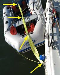 towing a dinghy what am i missing? sailboatowners com forums towed vehicle wiring kit at Dinghy Towing Harness