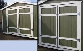 exterior double doors for shed. Simple Doors Add 250 To Make Included Door Into A Double Add 150 Wood Doors  Include Heavy Duty 8 And Exterior Double Doors For Shed U