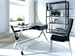 nervi glass office desk. Contemporary Glass Office Desk Modern Stylish Within Plans 12 Nervi
