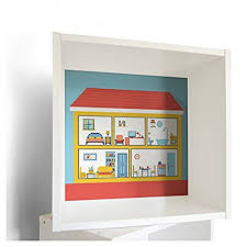 dolls house furniture ikea. Banjadolino \u2013 Ikea FÖRHÖJA Wall Cabinet In White With \u0026quot;Dolls \u0027House Furniture Sticker Dolls House