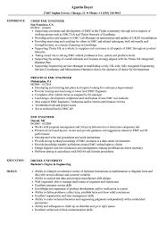 Emc Test Engineer Sample Resume EMC Engineer Resume Samples Velvet Jobs 7