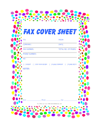 Life Plan Template Unique Free Printable Fax Cover Sheets Free ...