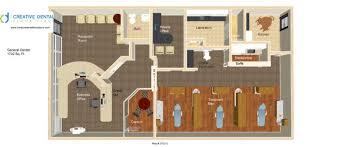 dentist office floor plan. reception room in 3d dental office dentist floor plan