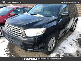 2008 Used Toyota Highlander 4WD 4dr at East Madison Toyota Serving ...