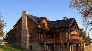 luxury log homes the arlington defines luxury enormous 2 story 5735 sq
