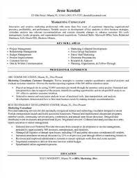 Financial Services Consultant Resume Sample