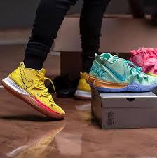 Coleção Bob Esponja x Nike Basketball x Kyrie Irving Chega ao Brasil